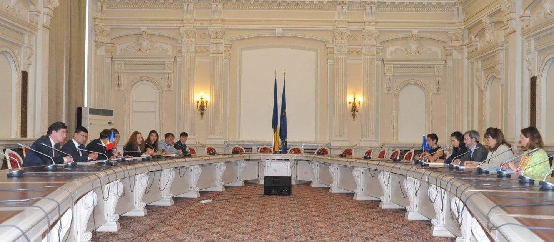 Senatorul Ioan Chelaru, întâlnire cu adjunctul secretarului general al Comisiei Europene