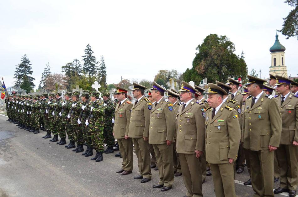 Ziua Armatei este sărbătorită pe 25 octombrie