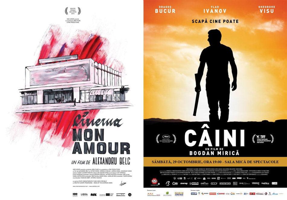 """Proiecții de filme la Casa de Cultură: thrillerul """"Câini"""" și documentarul """"Cinema, mon amour"""""""