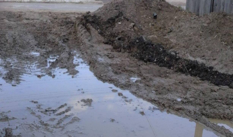 Nemulțumiri legate de lucrările de extindere a rețelei de apă și canalizare în Ion Creangă