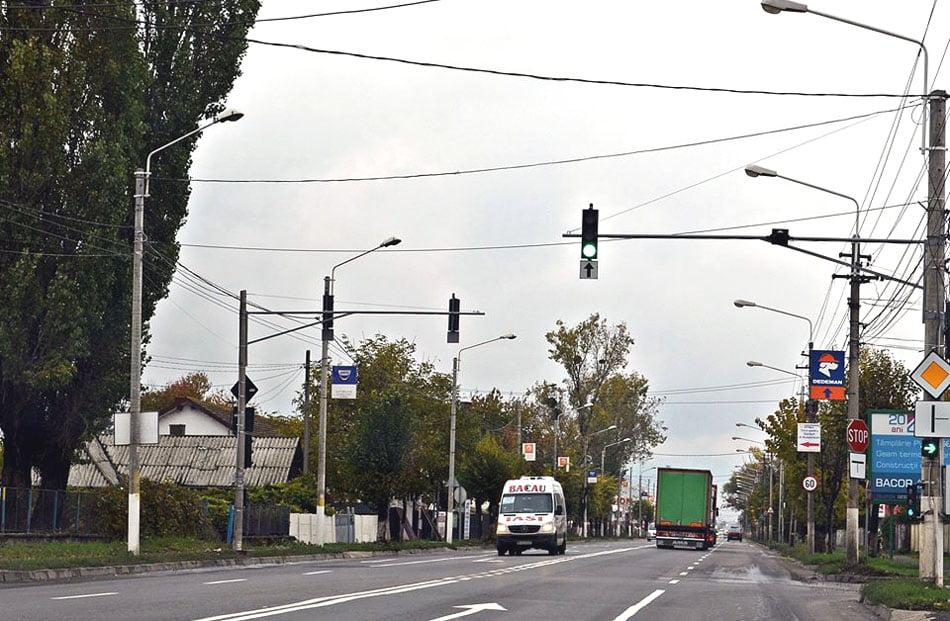 Atenție la semaforul inteligent de pe E85!
