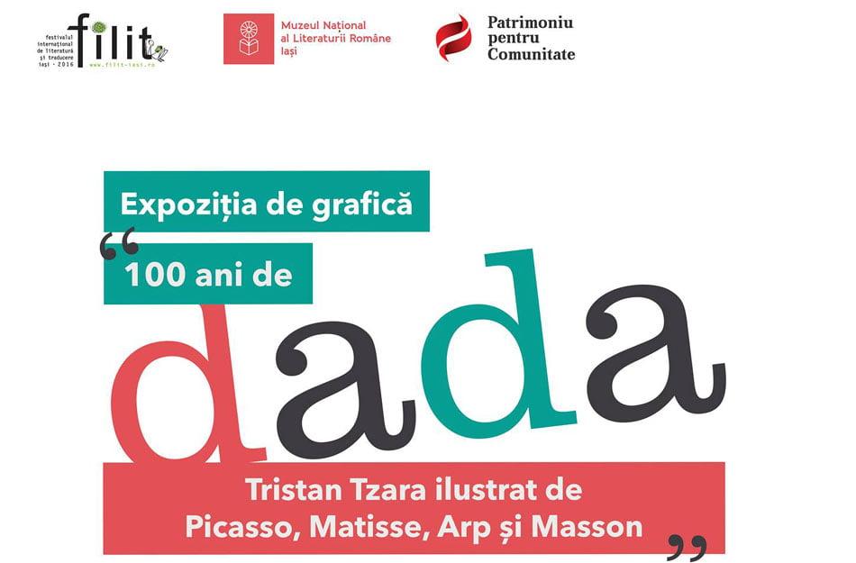 Tristan Tzara ilustrat de Picasso, Matisse, Arp și Masson – expoziție eveniment la FILIT 2016
