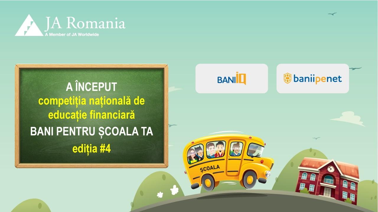 """Liceele din Neamț pot primi finanțări de până la 10.000 euro în competiția """"Bani pentru școala ta"""""""