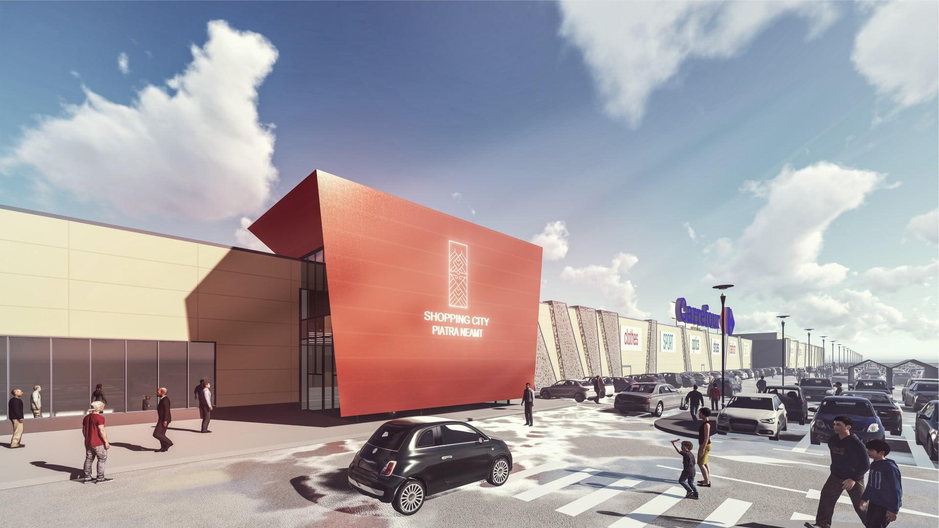 [FOTO] Shopping City Piatra Neamț își deschide porțile pe 1 decembrie