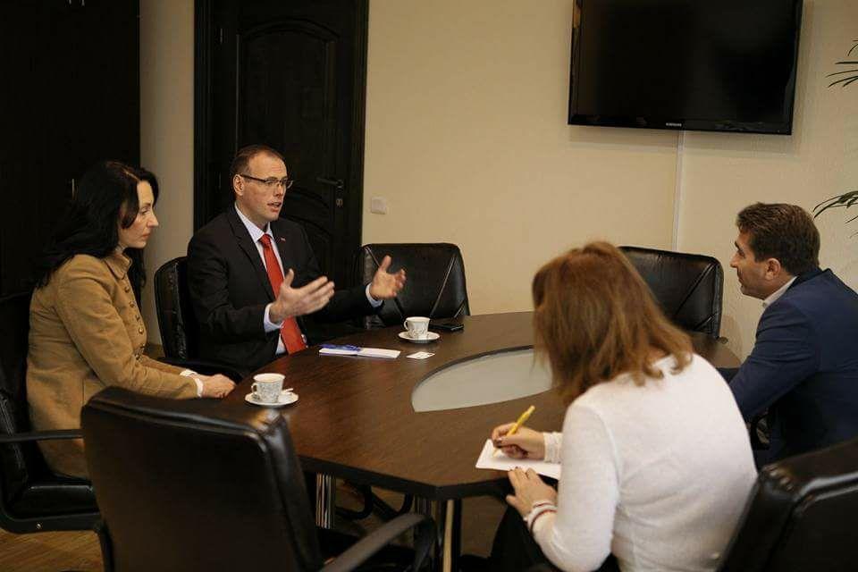 Ambasadorul Republicii Slovenia în România, în vizită la Consiliul Județean
