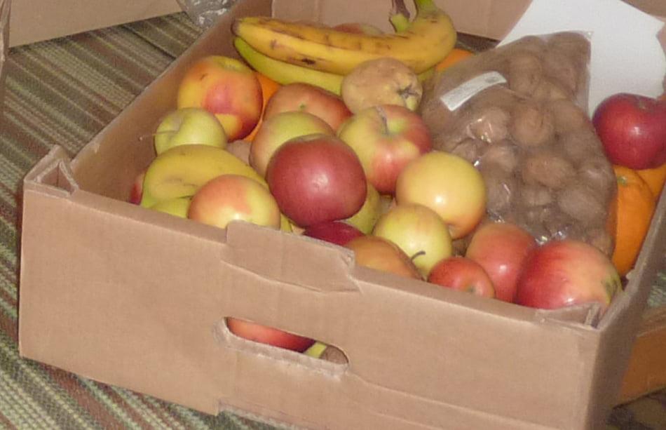 Elevii și profesorii din județ au donat peste cinci tone de fructe și legume