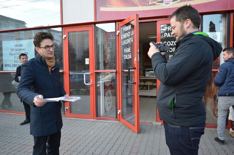 Echipa USR Neamț a atras atenția presei internaționale