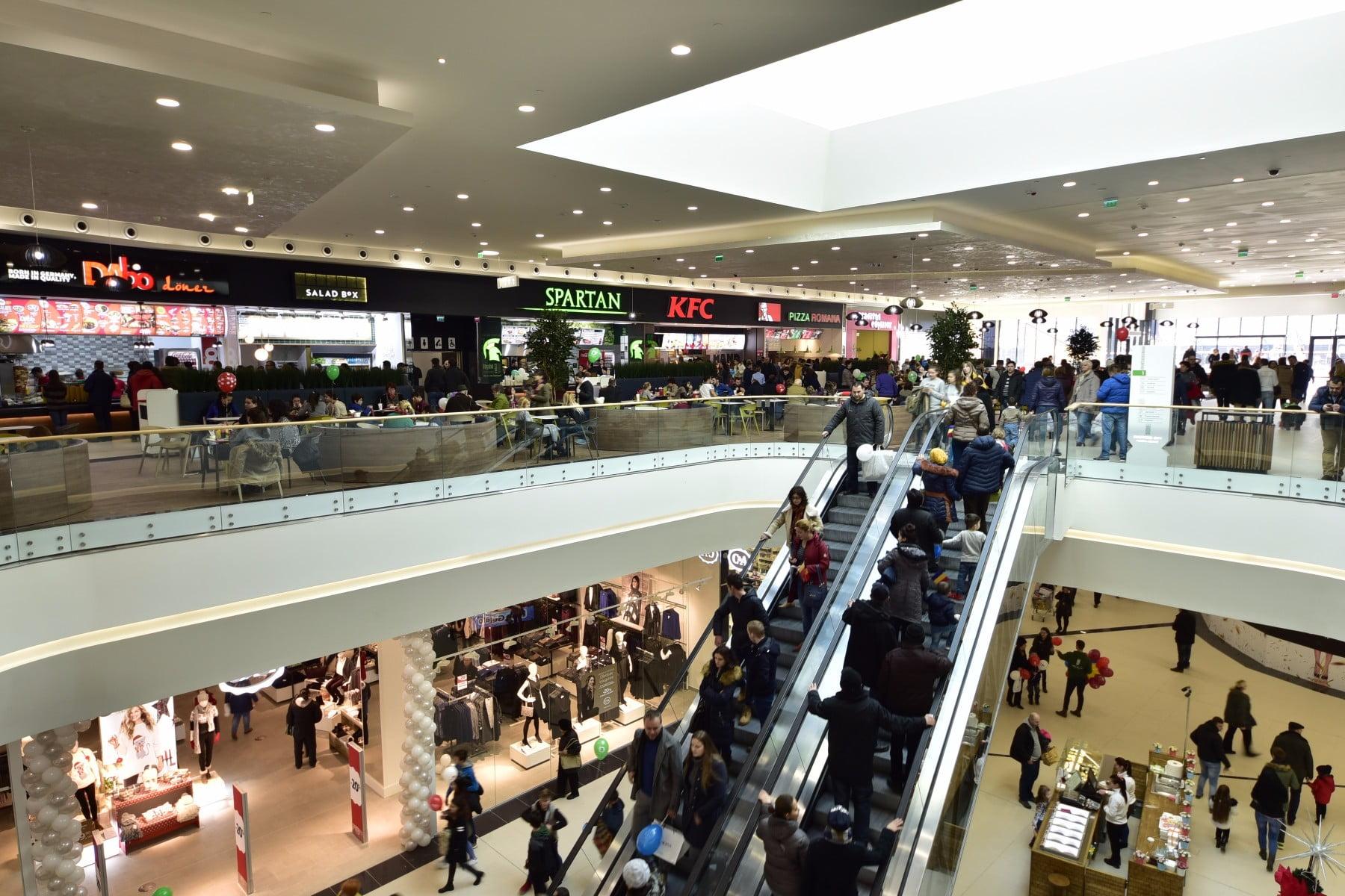Shopping City Piatra Neamț și-a deschis oficial porțile