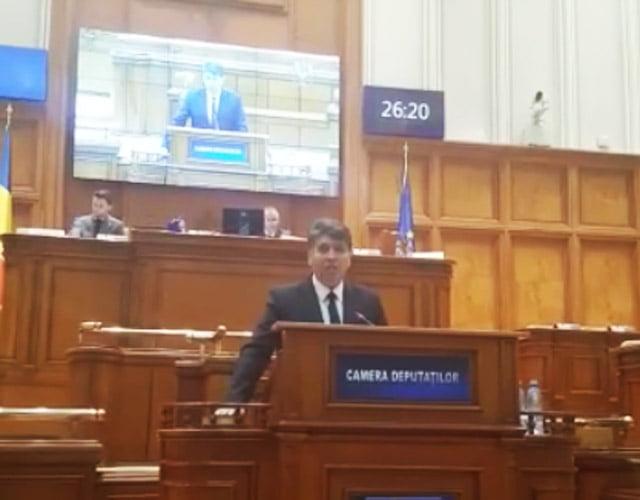 [VIDEO] Laurențiu Leoreanu a depus jurământul de credință în Parlamentul României
