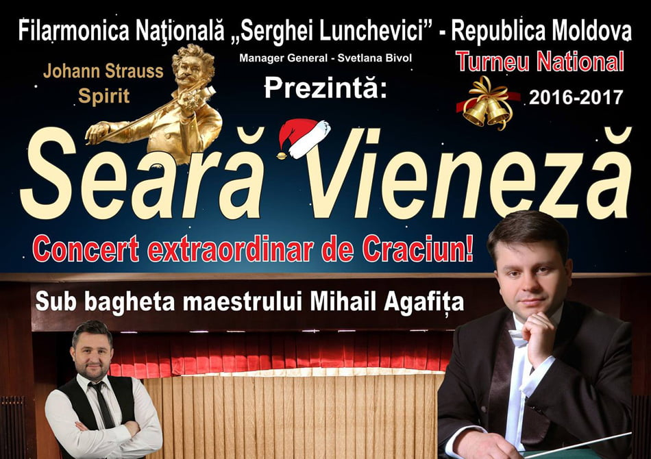 Seară Vieneză, la Casa de Cultură din Roman