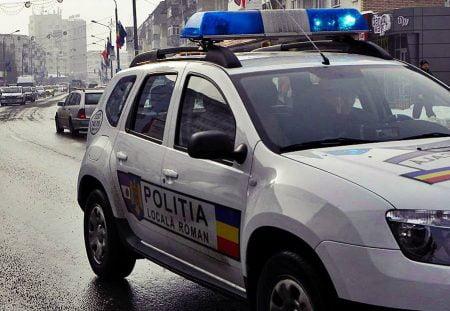 Politia Locala - masina automobil Dacia Duster