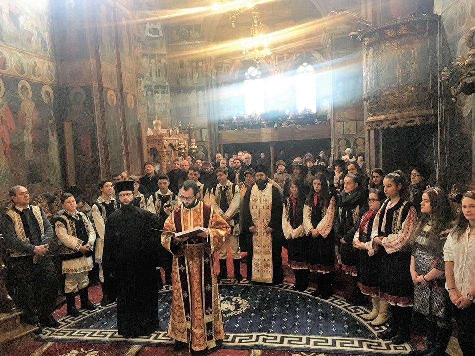 Ziua Unirii Principatelor Române, la Catedrala arhiepiscopală din Roman