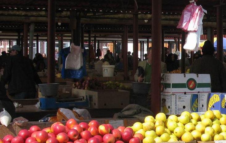 Prețurile legumelor și fructelor din piață în această săptămână