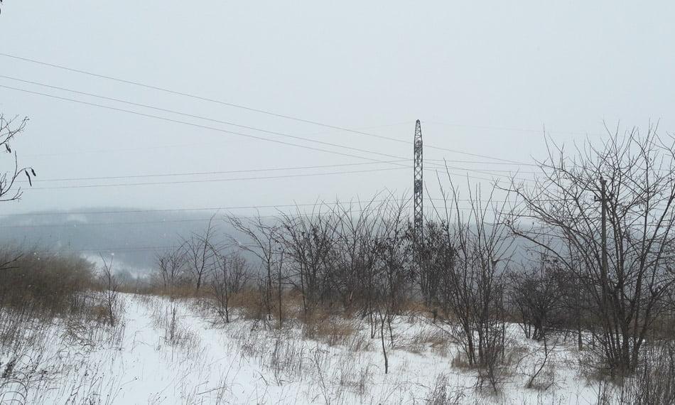 Două localități fără energie electrică în Neamț