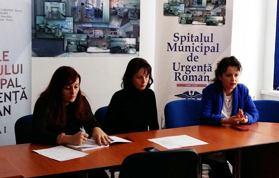 Conducerea Spitalului Roman reacționează la acuzații