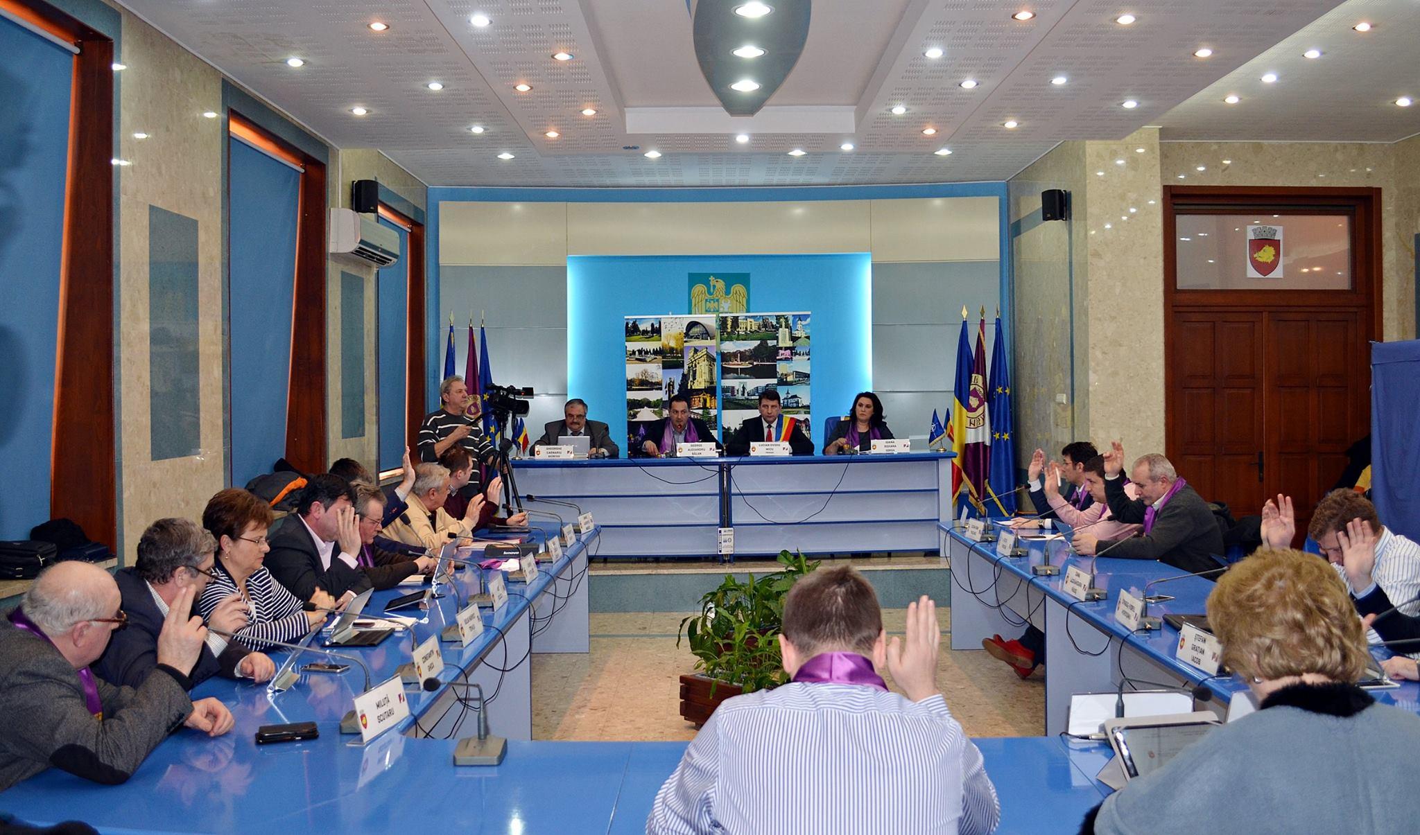 Ședință de Consiliu Local fără patimi