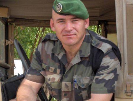 Legionar parașutist în Africa