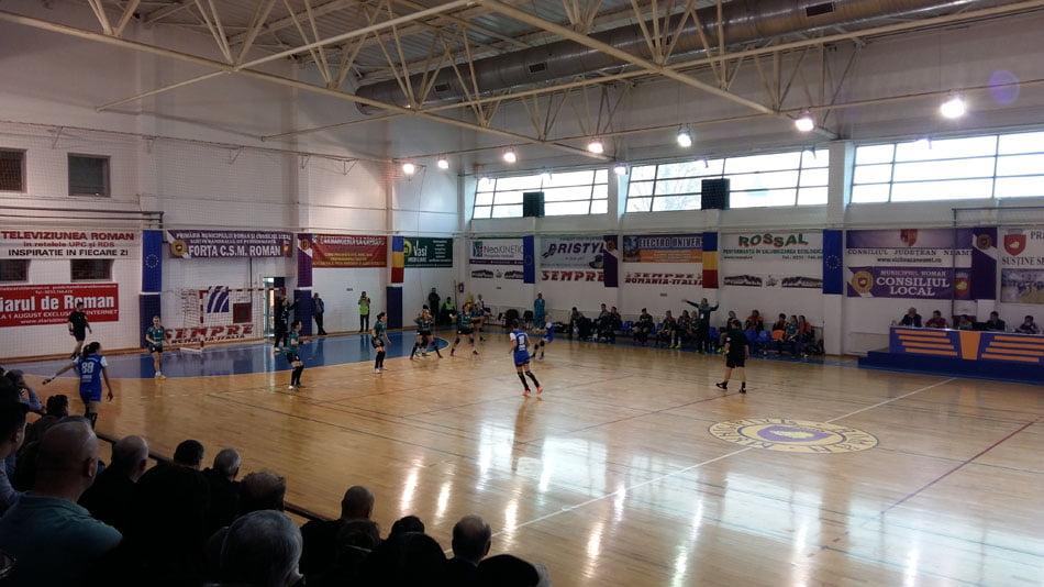 CSM Roman învinge SCM Craiova și urcă pe locul al cincilea