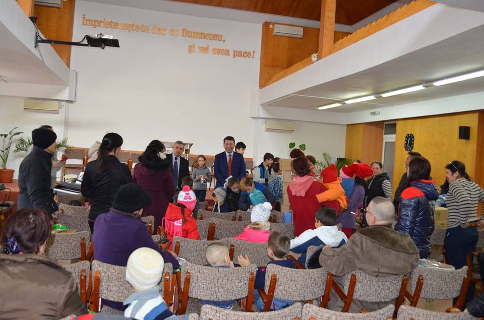 Biserica Adventistă, alături de copiii defavorizați