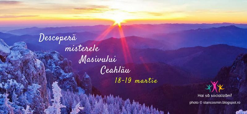 Invitație la descoperirea misterelor Masivului Ceahlău