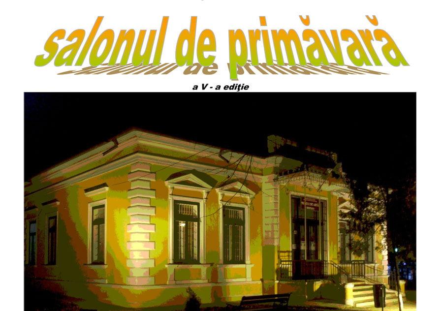 """O nouă ediție a expoziției colective """"Salonul de primăvară"""", la Muzeul de Artă din Roman"""
