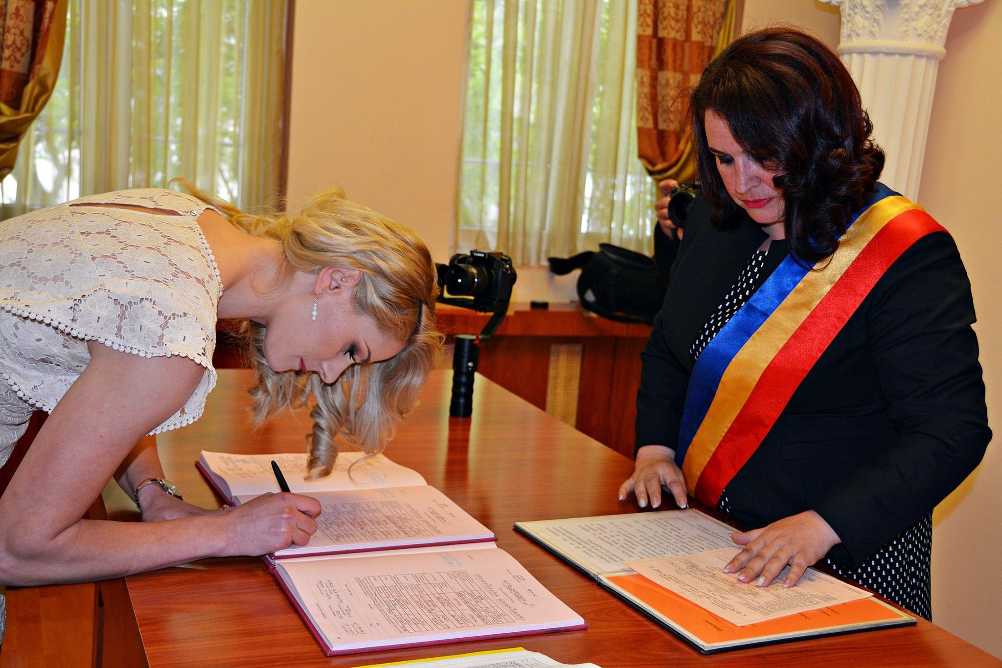Handbalista Ana Maria Iuganu s-a căsătorit