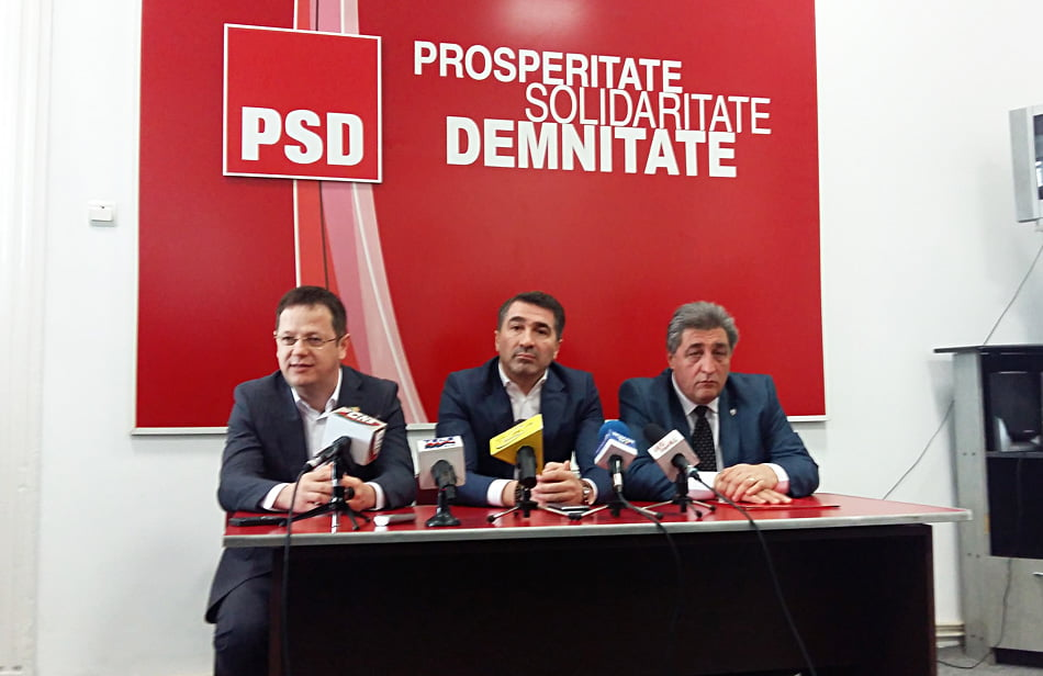 Lansare cu gafe a candidatului PSD pentru funcția de primar al Romanului