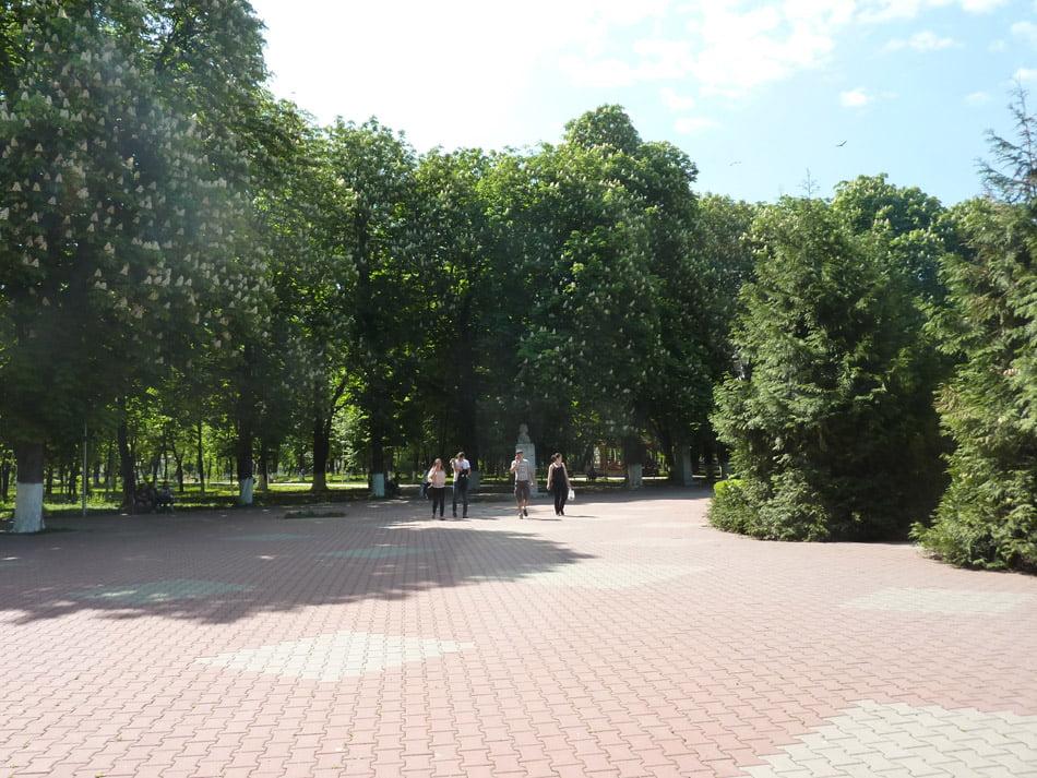 Karturi și biciclete pentru plimbarea prin Parcul Municipal