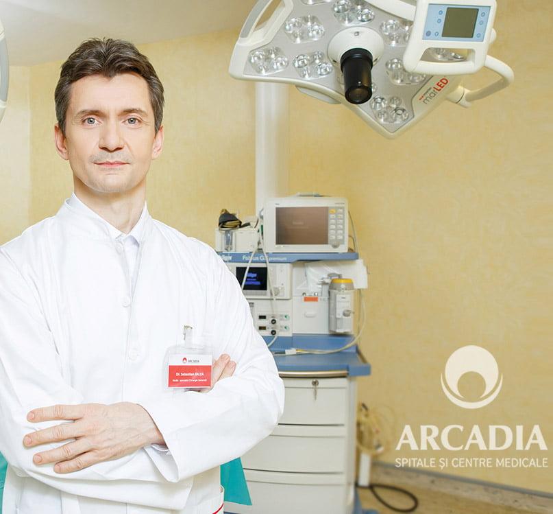 Premieră medicală regională la Spitalul Arcadia: 6 tipuri de intervenții de chirurgie a obezității, realizate prin tehnica SILS (chirurgie printr-o singură incizie)