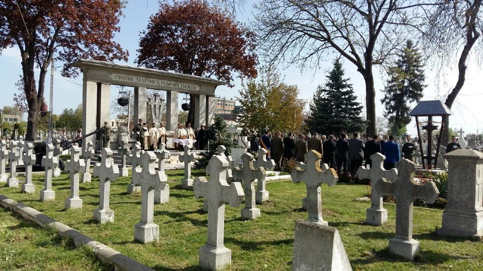 Ziua Veteranilor de Război, sărbătorită marți la Monumentul Eroilor