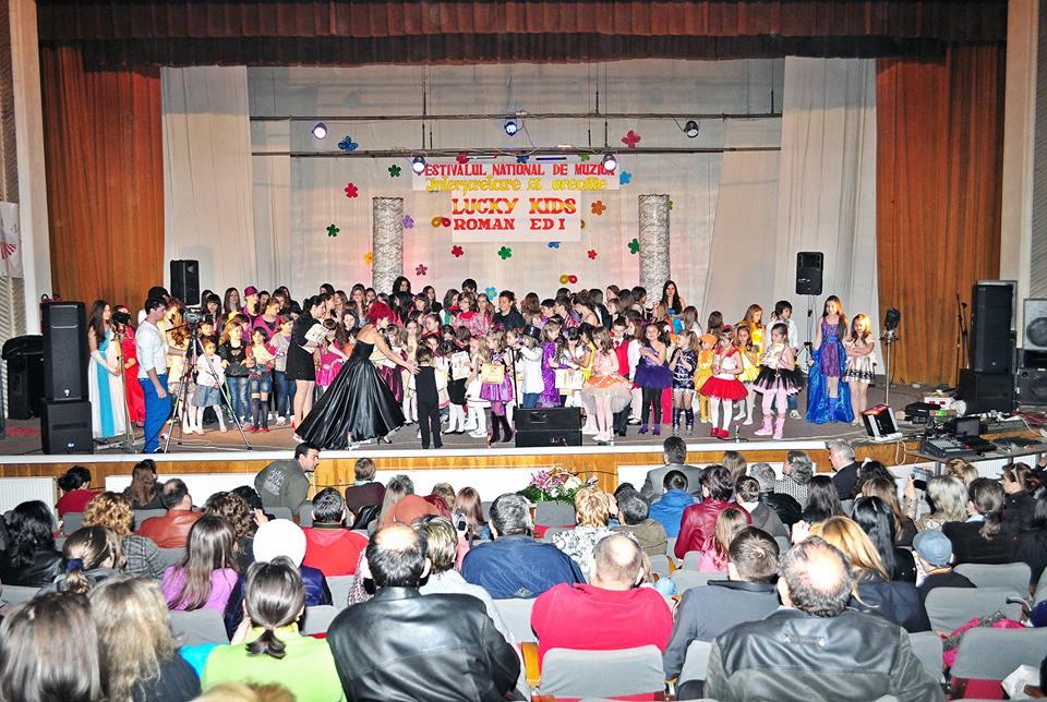 """Ediția a IX-a a Festivalului Internațional de Muzică Ușoară """"Lucky Kids"""" are loc în martie"""