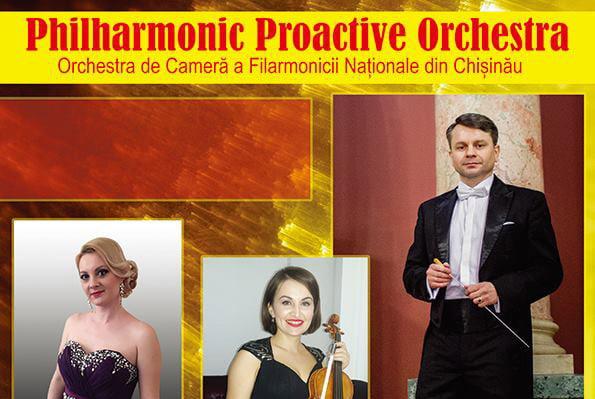 Concert al Orchestrei de Cameră a Filarmonicii din Chişinău