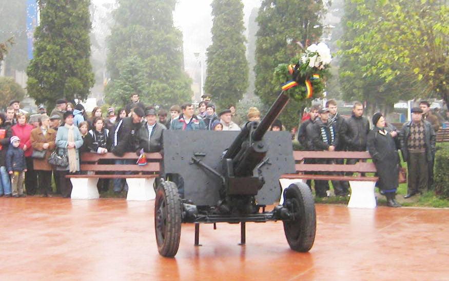"""Tunurile din centrul orașului au fost mutate la Monumentul Eroilor din Cimitirul """"Eternitatea"""""""
