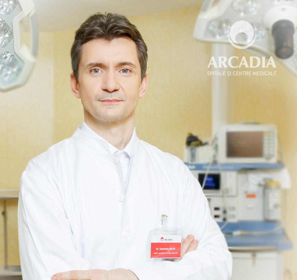 Succes medical la Arcadia: chirurgia laparoscopică a herniei hiatale de talie mare