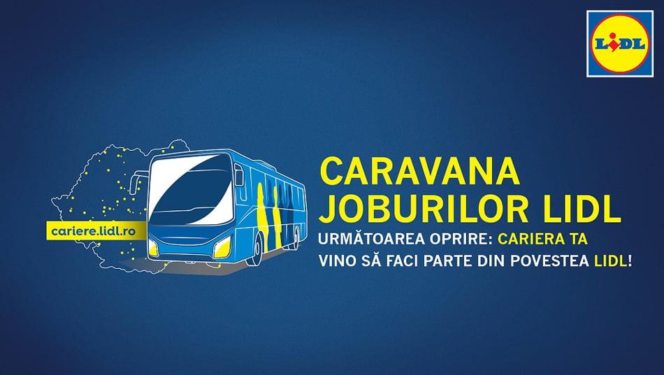 Caravana joburilor Lidl ajunge în Roman, Piatra Neamț și Tîrgu Neamț