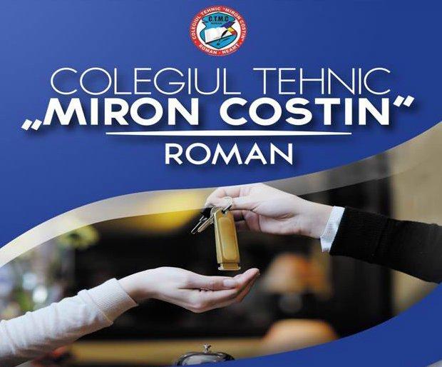"""Oferta educațională a Colegiului Tehnic """"Miron Costin"""" Roman pentru anul şcolar 2017-2018"""