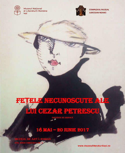 """""""Fețele necunoscute ale lui Cezar Petrescu"""", la Muzeul de Artă din Roman"""
