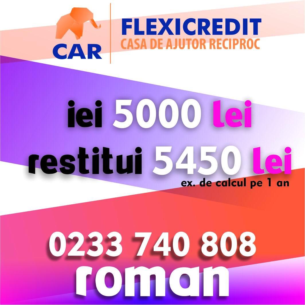 CAR FLEXICREDIT – Soluţia creditelor nebancare corecte