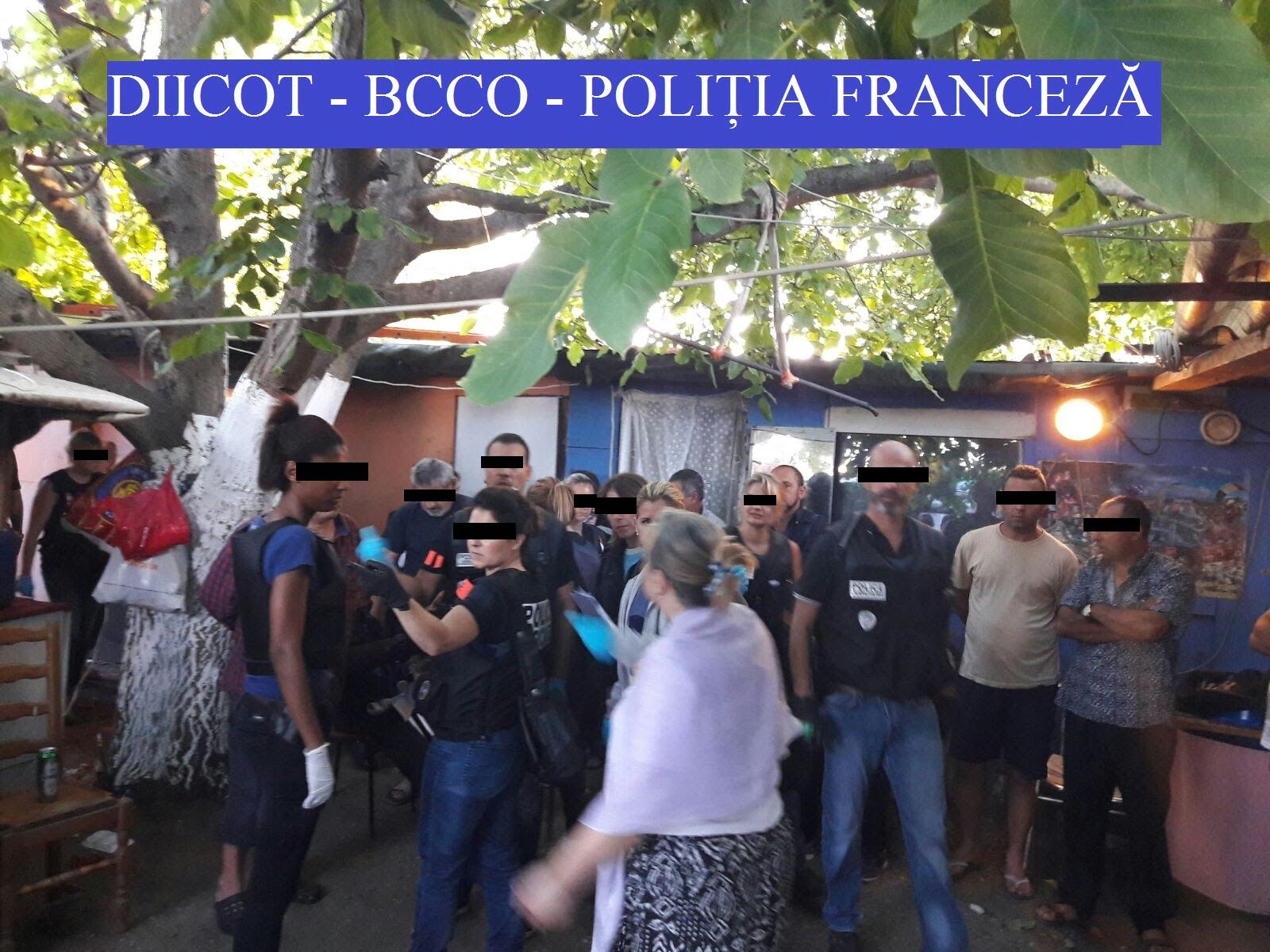 [VIDEO] Cum a fost destructurată rețeaua internațională de hoți minori cu ramificații în Roman