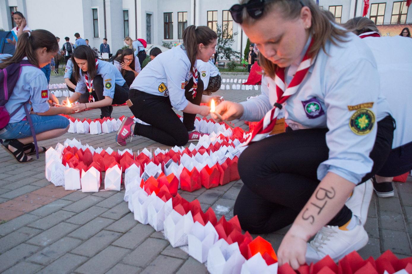 Festivalul Luminii de la Pildești, la a șaptea ediţie