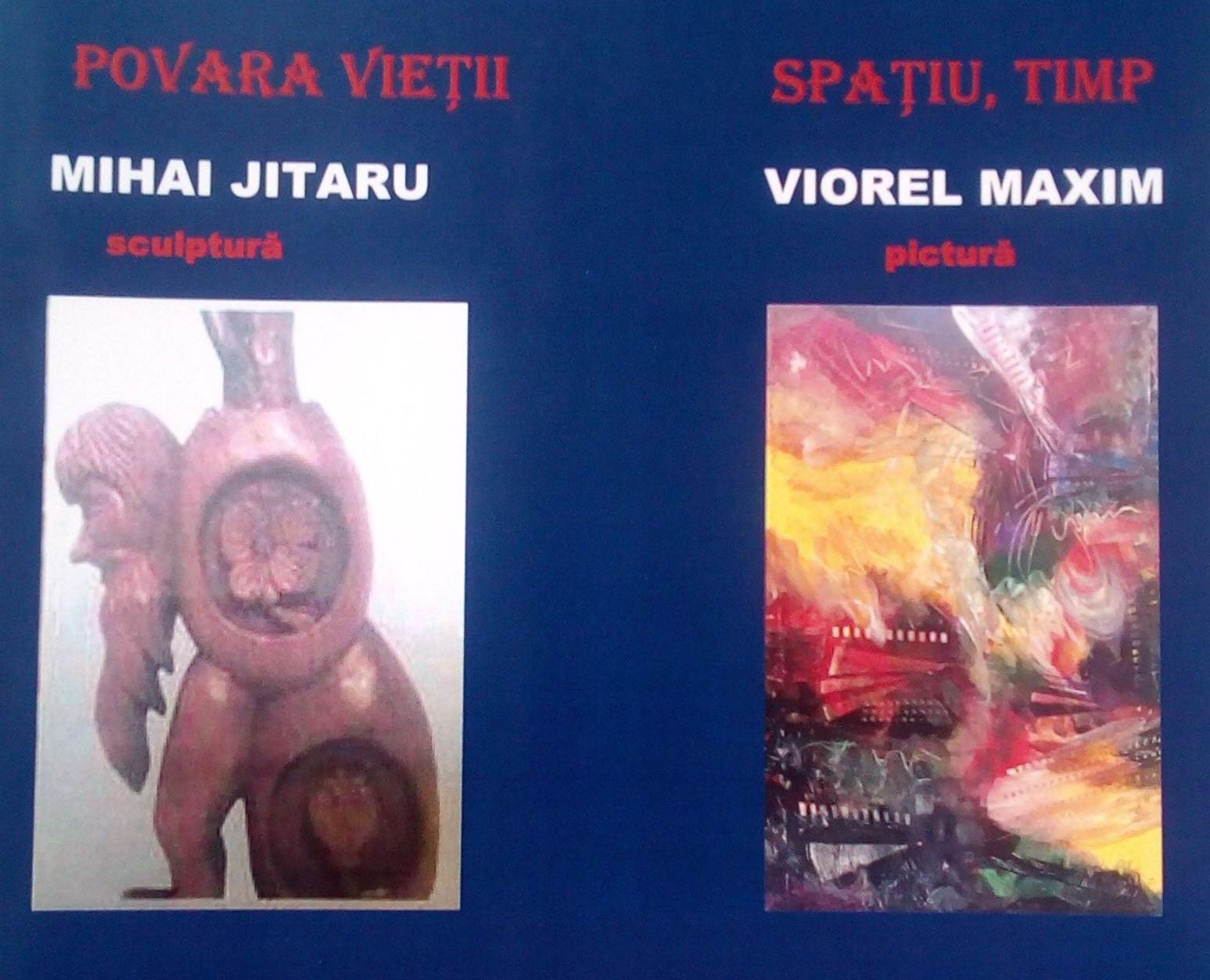 """""""Povara vieții – Spațiu, timp"""", expoziție de sculptură și pictură la Muzeul de Artă din Roman"""