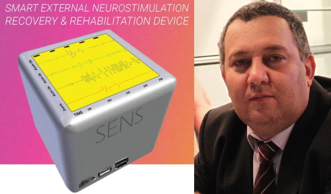 Un cercetător romașcan dezvoltă un proiect pentru recuperarea pacienților cu afecțiuni neurologice