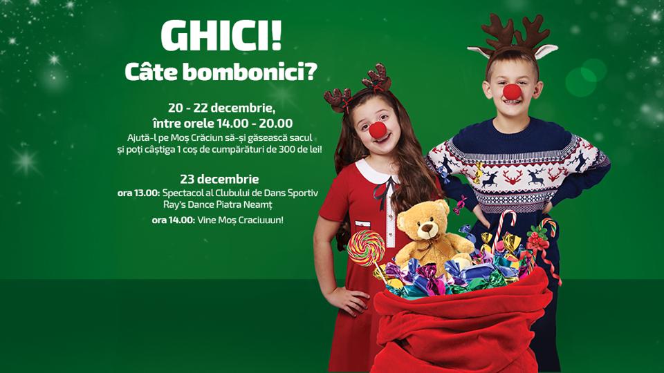 Moș Crăciun ajunge la Shopping City Piatra Neamț cu o mulțime de surprize pentru cei mici