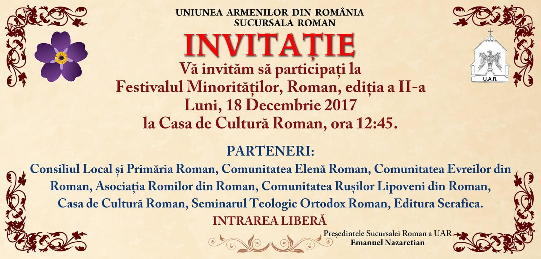 A doua ediție a Festivalului Minorităților Romașcane