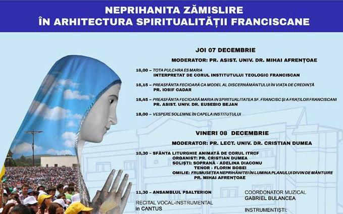 Neprihănita Zămislire în arhitectura spiritualității franciscane