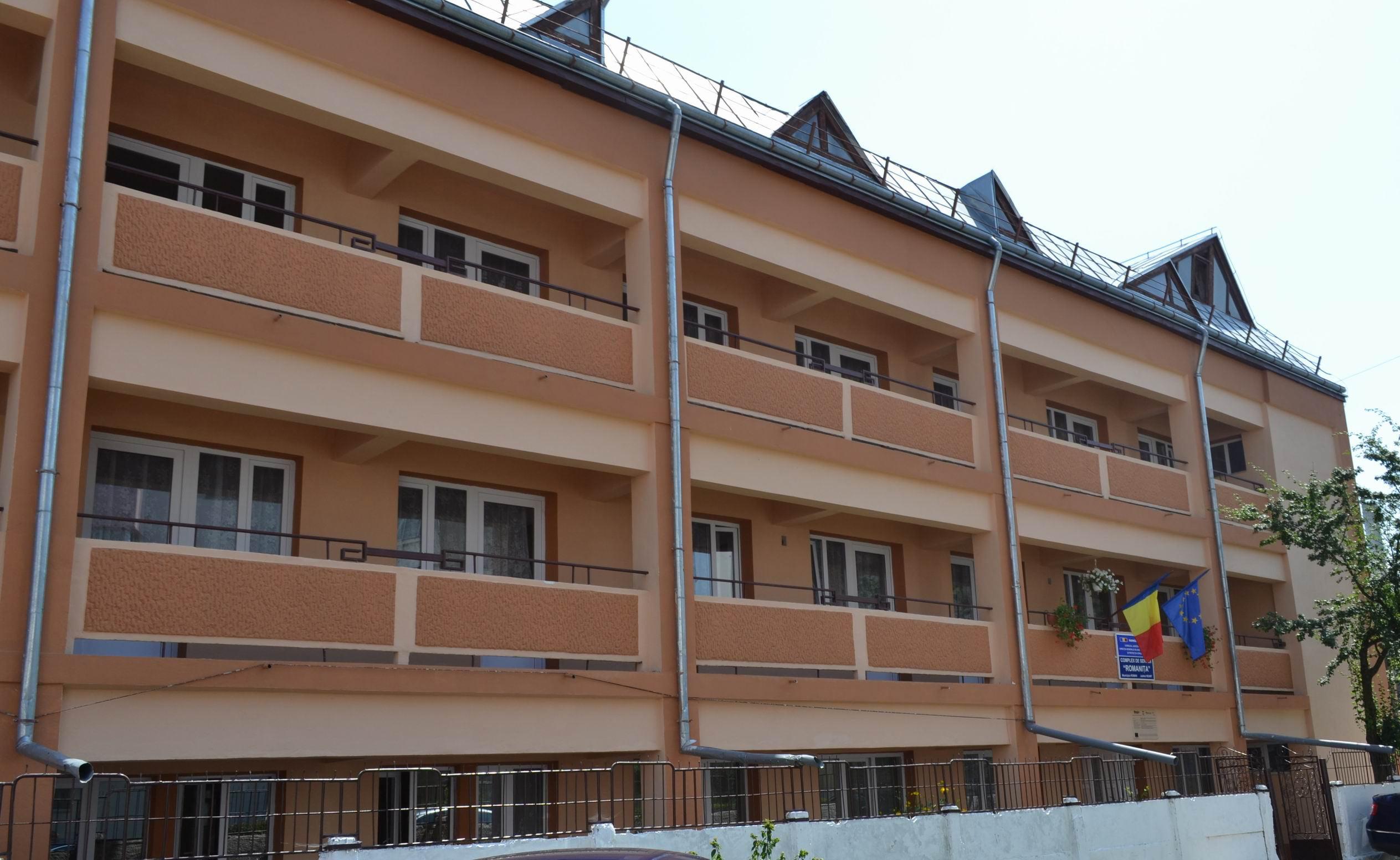 """Locuințe de tip familial și centre de recuperare pentru copiii cu dizabilități de la Complexul """"Romanița"""""""