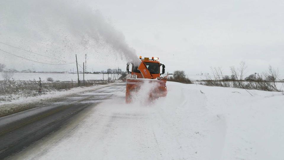 Starea drumurilor în județele din Moldova, vineri dimineață