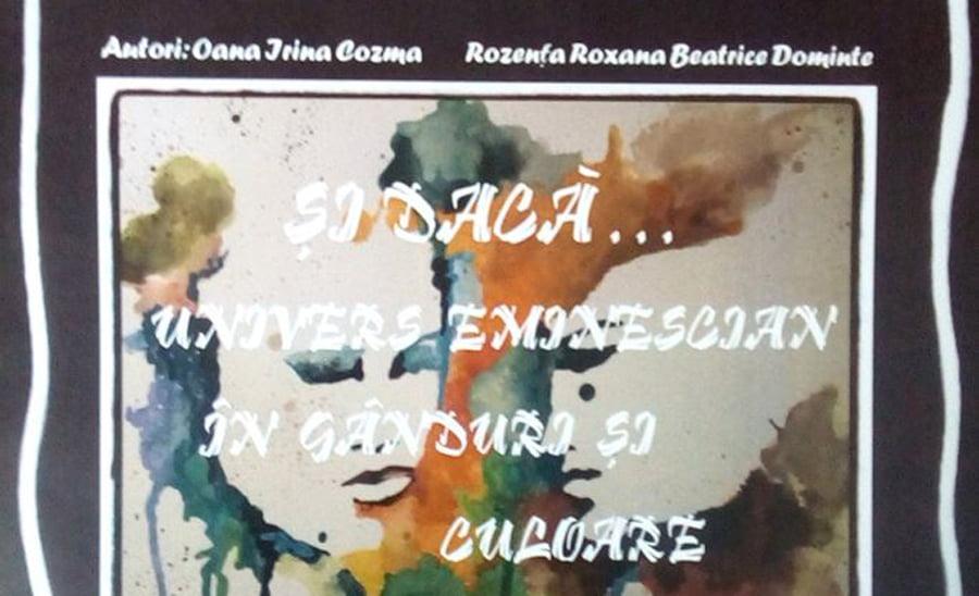 Album cu lucrări ale elevilor romașcani inspirate din poezia lui Eminescu, lansat la Muzeul de Artă