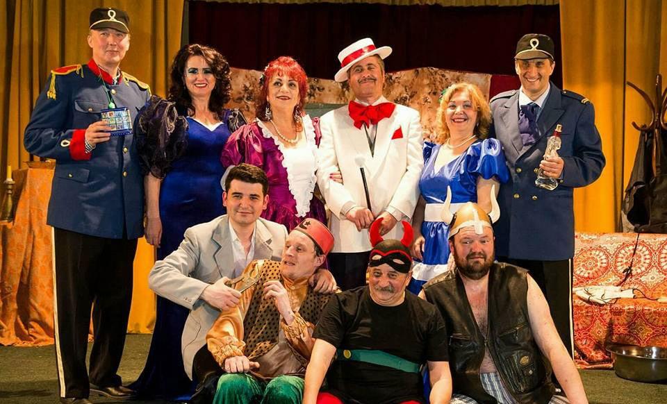 """Teatrul """"Dan Alecsandrescu"""" prezintă luni piesa """"D'ale carnavalului"""""""
