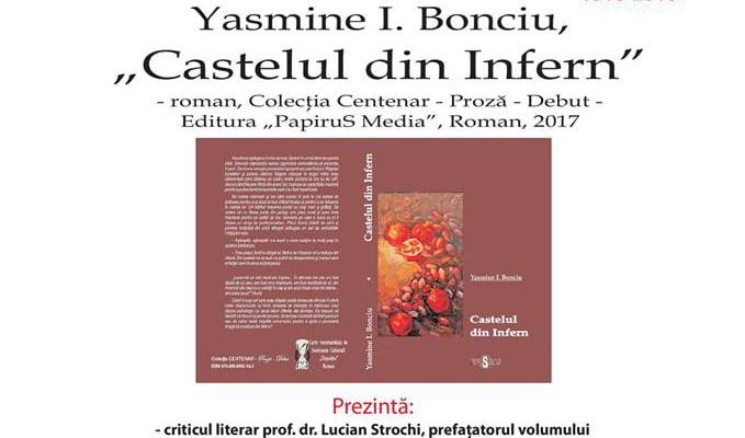 """Lansare de carte la Cercul Militar: """"Castelul din infern"""", debutul autoarei Yasmine I. Bonciu"""